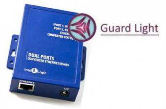 Комплект Guard Light - 10/2000 IP (конвертер Z-397 WEB + лицензия)