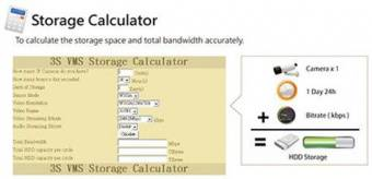 Программное обеспечение 3S Vision Storage Calculator